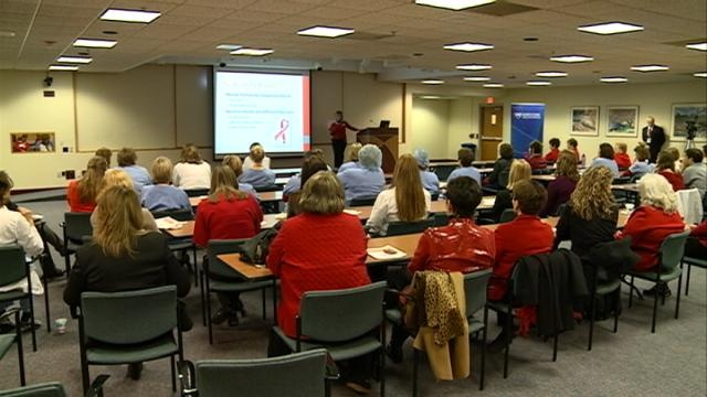 "Mayo Clinic Health System holds 'Go Red for Women"" event"