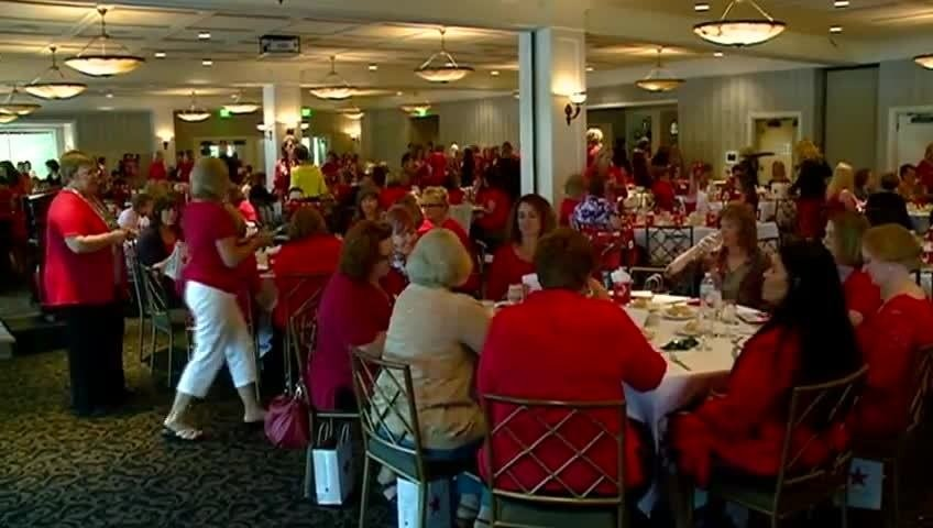 'Go Red for Women' luncheon raises awareness about heart health