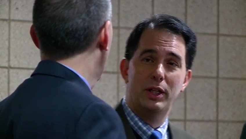 Gov. Walker attends movie premiere in La Crosse