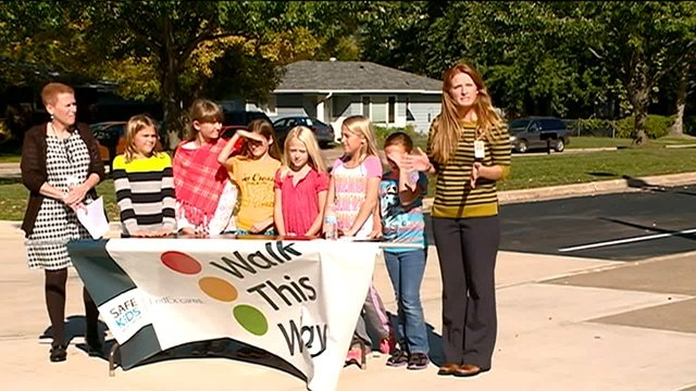 Grant makes walk to and from school safer