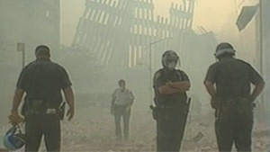 Ground Zero volunteer dealing with health effects following 9/11