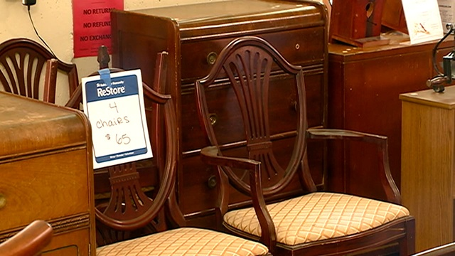 Habitat for Humanity store sees slow in donations