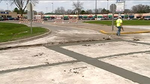Highway 16 construction causes headaches for drivers