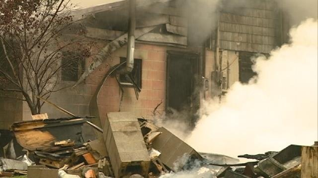 Explosion destroys house on Hwy 35 in Vernon County