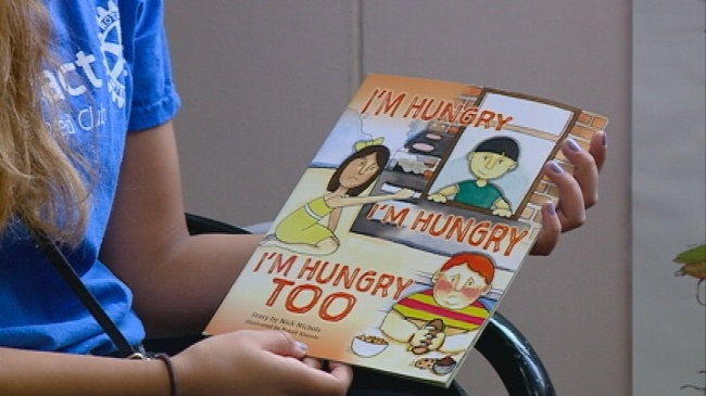 Children's book aims to teach kids about youth hunger issue