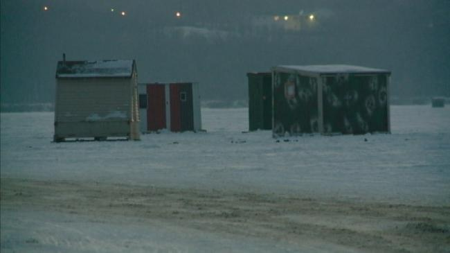 Wis. DNR: Ice fishing shelters must be removed overnight