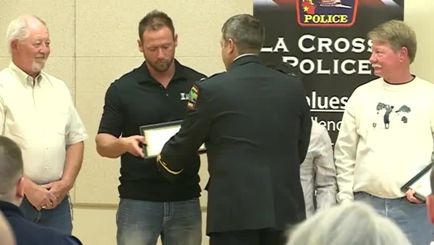 La Crosse Police Department honors officers, citizens