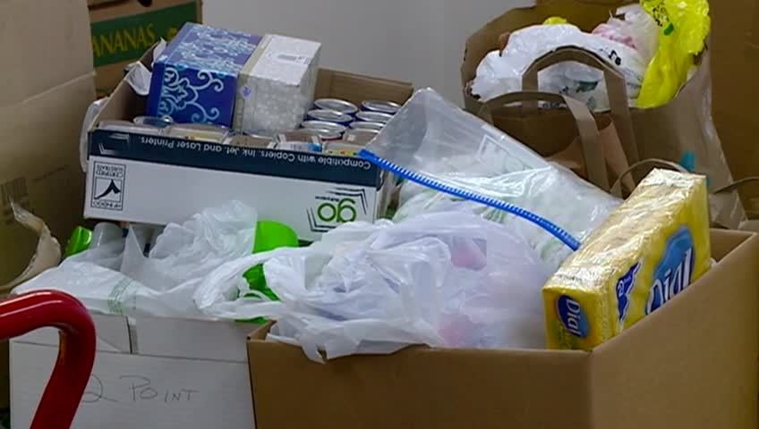 LHI employees donate more than 2,000 items to WAFER