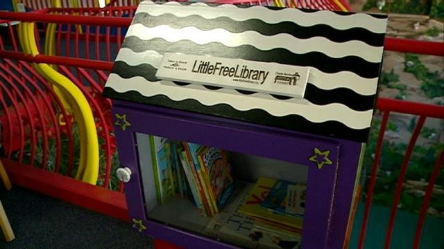 Children's Museum taking part in 'Little Free Library' program