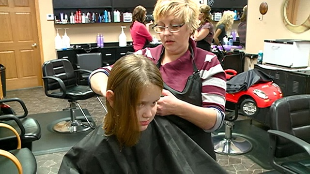 Sparta girl donates 14-inches for Locks of Love