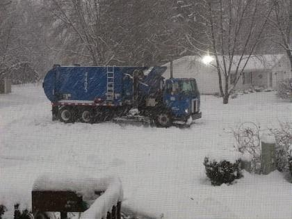 Winter weather recycling reminder