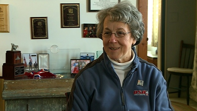 Mother shares pride of Olympic athlete