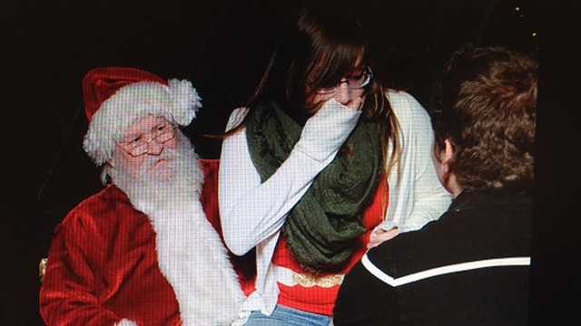 Local Mary, Joseph get engaged with Santa's help
