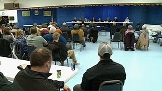 Mayoral candidates square off in first forum
