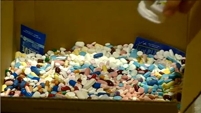 Medication drop-off scheduled for Aug. 17