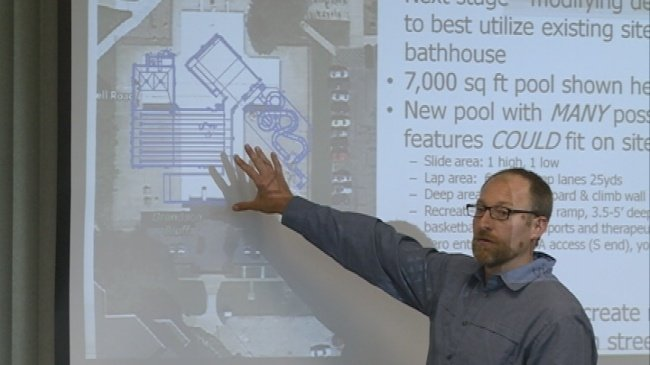 Memorial Pool supporters make sales pitch in public presentation