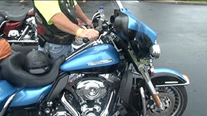 Officials give motorcyclists chance to test skills