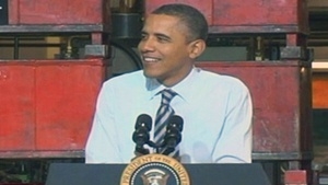 UPDATE: Obama promotes manufacturing at Wisconsin plant