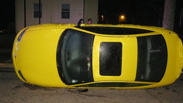 $2,000 reward for Oktoberfest car flipping information