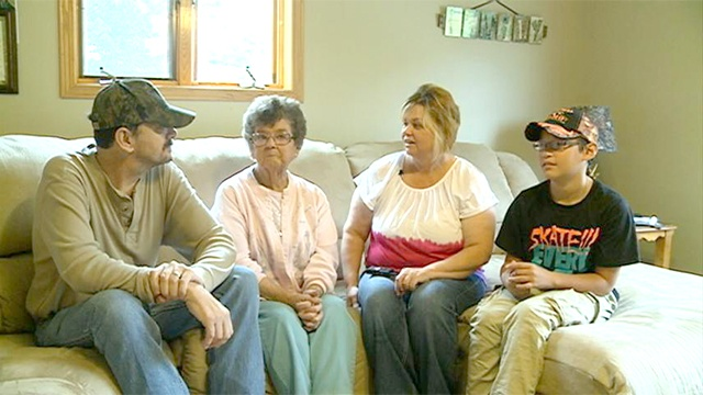 New furnace awarded to family in need