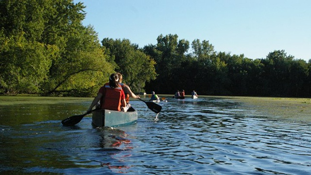 Public invited to paddle the backwaters of Mississippi River