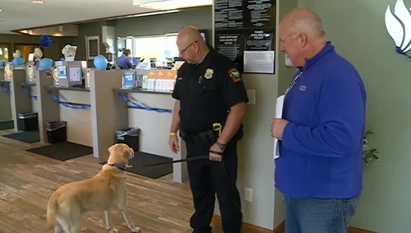 La Crosse businesses 'paint the town blue' to support law enforcement