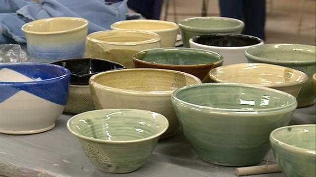 Pottery helps raise money for food shelves