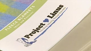 Project Linus blanketeers providing warmth one blanket at a time