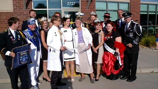 Local doctor knighted by Queen of the Snows