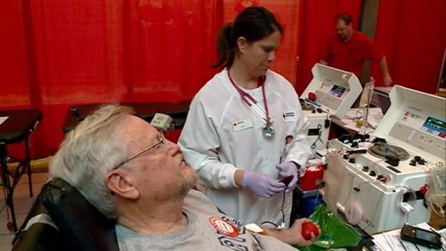 Red Cross hosts annual blood drive at Valley View Mall