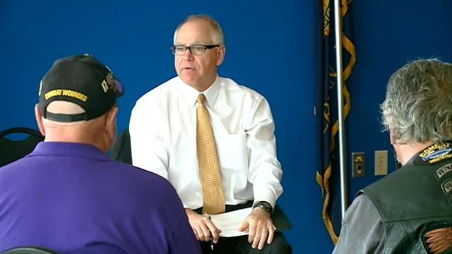 Walz calls for gas tax increase, opens door to other hikes