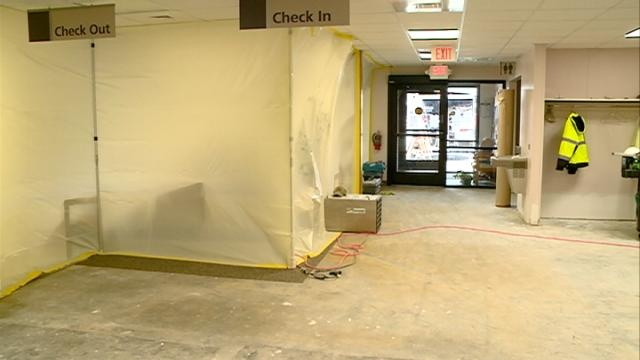 Repairs ongoing at Gundersen Clinic in Sparta