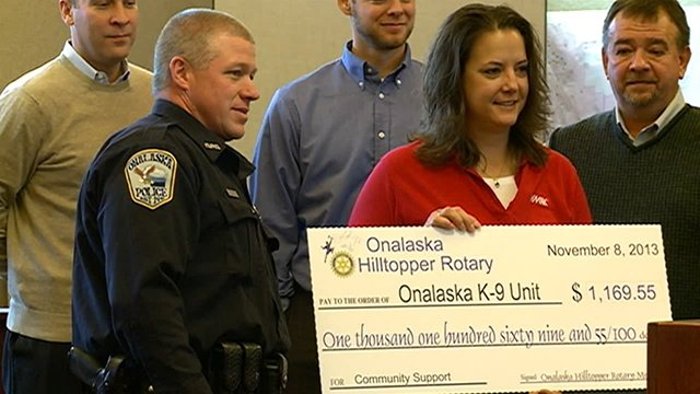 Community helps Onalaska K-9 officer dealing with personal hardships