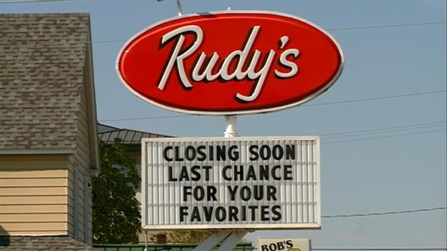 Rudy's closing for season Friday night