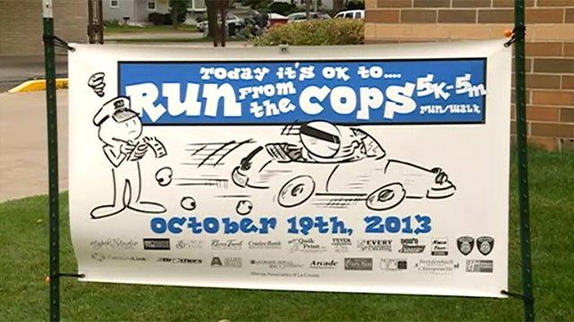 'Run from the Cops' this weekend