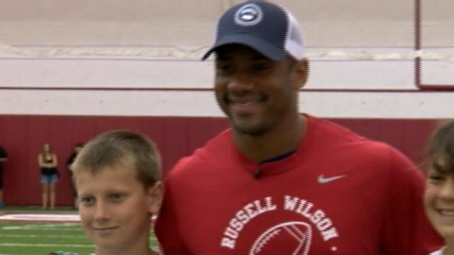 """Russell Wilson: """"Life hasn't changed"""""""