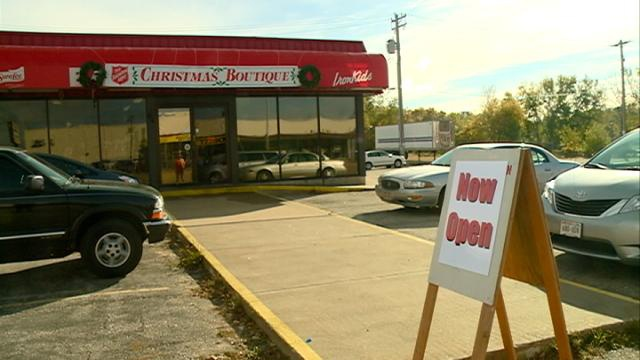 Salvation Army Christmas Boutique now open