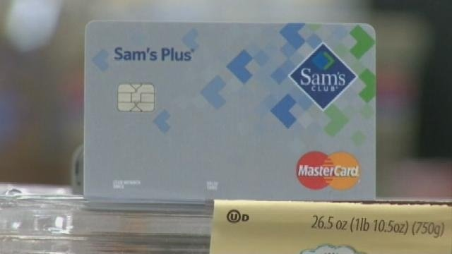 Sam's Club rolls out safer store credit cards