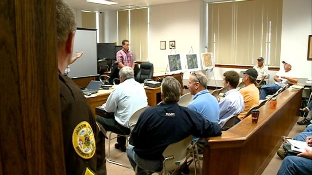 Dozens attend hearing about proposed sand mine in Jackson County