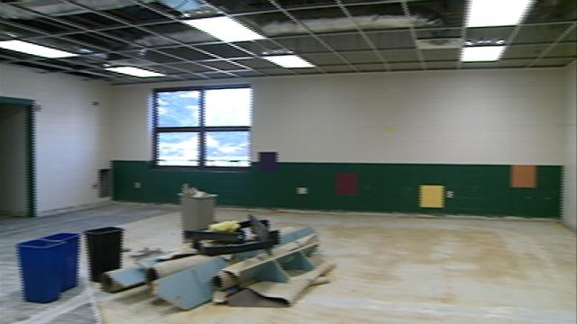 Local school districts update building security