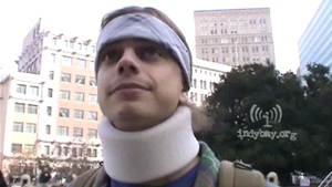 Injured protester's friend inspired by his recovery