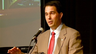 Walker's birthday wish: For Wis. to elect Romney