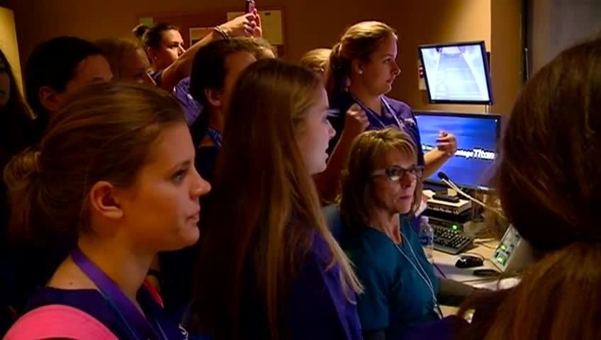 Students attend 'Scrubs Camp' to learn about health care careers