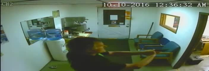 Surveillance video shows Holmen business owner shooting intruder