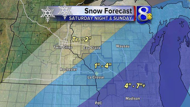 Snow to impact weekend travel plans