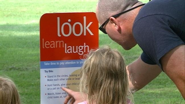 Sparta walking trail promotes family playing, learning