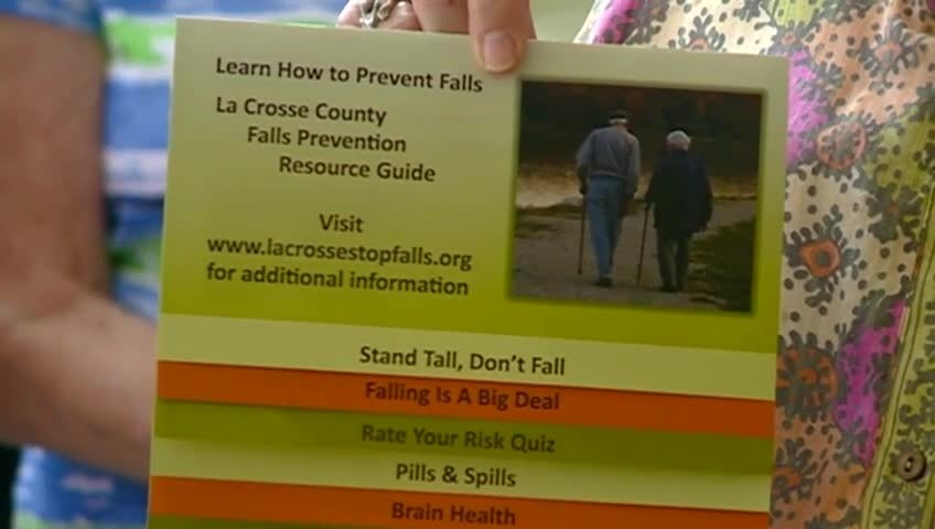 Locally created booklet offers tips for seniors to avoid falls & injuries