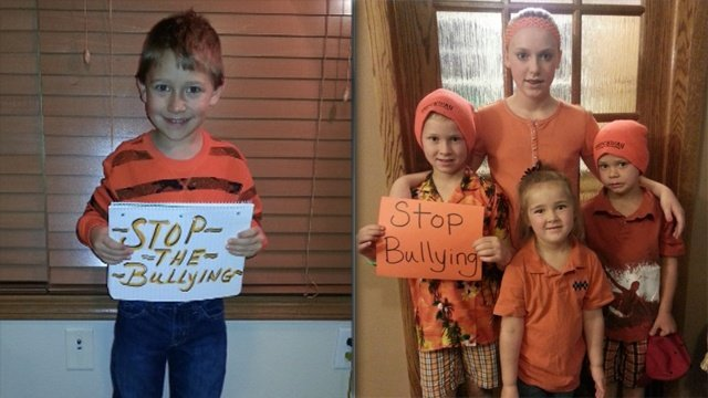 PHOTOS: Wear Orange-Unite Against Bullying