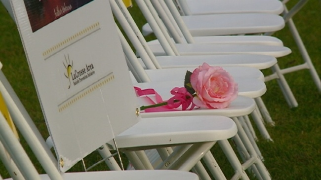 Suicide prevention awareness event remembers those lost