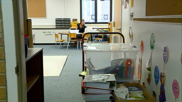Area teachers prep classroom for new school year